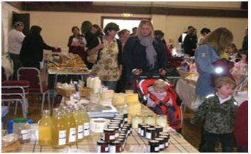 Challock Farmers Market. Photo 1