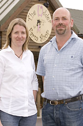 Jane and Brian Down -  Farmers Weekly Awards Finalists